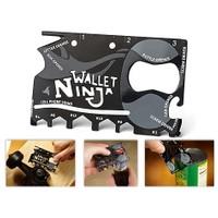 Toptancı Kapında Ninja Wallet 18 İn 1 Multi Tool Kit