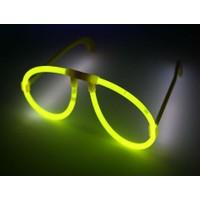 Toptancı Kapında Sarı Glow Stick Işıklı Gözlük