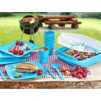 Toptancı Kapında 6 Kişilik Çantalı Piknik Seti
