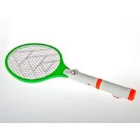 Toptancı Kapında Led Fenerli Şarjlı Sinek-Böcek Yok Edici Raket