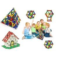 Toptancı Kapında 296 Parça Manyetik Lego Seti