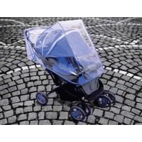 Toptancı Kapında Bebek Arabası Yağmurluğu - Mavi