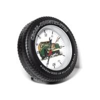 Toptancı Kapında Masaüstü Araba Lastiği Tasarımlı Saat