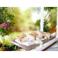 Toptancı Kapında Sunny Seat Cama Asılan Kedi Yatağı