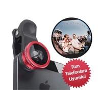Toptancı Kapında Balık Gözü Cep Telefonu Lensi (Tüm Modellere Uyumlu)
