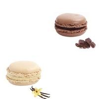 Nefis Gurme Karışık Macaron 6'Lı (Çikolata 3 Adet Vanilya 3 Adet )