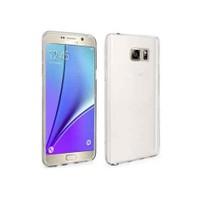 Toptancı Kapında Samsung Galaxy Note 5 Ultra İnce Silikon Kılıf Şeffaf