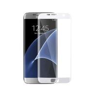 Toptancı Kapında Samsung Galaxy S7 Edge Beyaz 3D Kavisli Kavisli Kırılmaz Cam