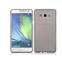 Toptancı Kapında Samsung Grand Max Füme Şeffaf İnce Silikon Kılıf