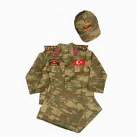 Flaş Asker Çocuk Komando Kostümü