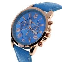 Geneva Kol Saatleri (Mavi)