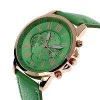 Geneva Kol Saatleri (Yeşil)