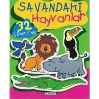 Savandaki Hayvanlar (32 Çıkartma)