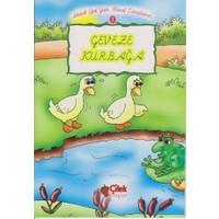 Geveze Kurbağa 3 - Bitişik Eğik Yazı Masal Kitaplarım