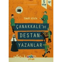 Çanakkale'de Destan Yazanlar (5 Kitap Kutulu Set)