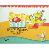 Step By Step English Preschool Practice Book Set