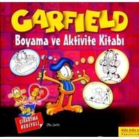 Garfield Boyama ve Aktivite Kitabı
