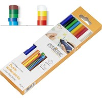 Steinel 006969 Karışık Renkli 7mm Mum Silikon Çubuk 16 adet
