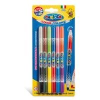 Carioca Çift Renkli Süper Yıkanabilir Keçeli Boya Kalemi 6'Lı (12 Renk)