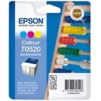 Epson T0520 Renkli Orjinal Kartuş