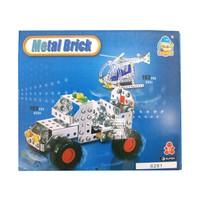 CC Oyuncak Metal Brick Set 183 Parça