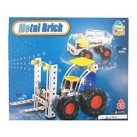 CC Oyuncak Metal Brick Set 192 Parça