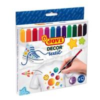 Jovi Dekoratif Tekstil Kalemi 12 Renk