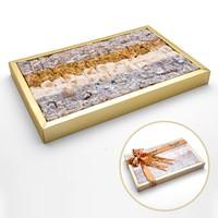 Antep Fıstıklı Karışık Çifte Kavrulmuş Lokum 750g (Hediyelik)