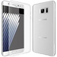 Melefoni Samsung Galaxy Note 7 Kılıf Şeffaf Silikon