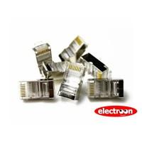 Electroon RJ45 Metal Fiş 100 Adet