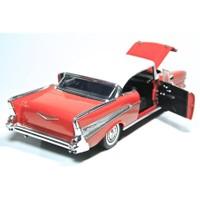 1957 Chevy Bel Air 1/18 Die Cast Model Araç