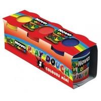 Nova Color Oyun Hamuru Mini 3'Lü (3 Ayrı Kavanoz)