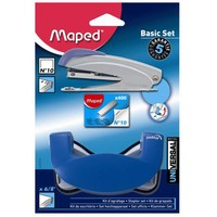 Maped Universal Metal Basic Set Delgeç+Zımba Makinesi+Tel ( Blister Set)