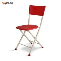 Katlanır Sandalye Kırmızı