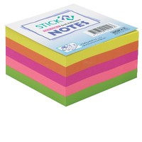 Hopax 21012 76*76 Neon Küp Not Kagıdı 400 Yp