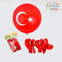 Türk Bayrağı Balon 10'Lu Paket