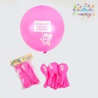 Diş Buğdayı Balon 10'Lu Paket Pembe