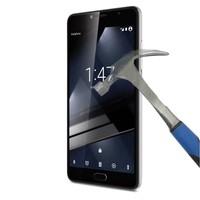 Teleplus Vodafone Smart Ultra 7 Plastik ve Cam Ekran Koruyucu Karışımı Cam Ekran Koruyucu