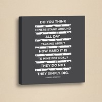 Dekorjinal Slogan Kanvas Tablo Slo073