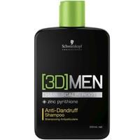 Schwarzkopf 3D Men Kepek Önleyici Şampuan 250Ml