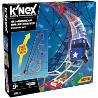 K'Nex All Star Adventure Roller Coaster Seti (Motorlu)Thrill Rides 59440