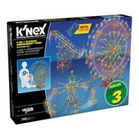 K'Nex 3-in-1 Klasik Lunapark Seti (Motorlu) Thrill Rides 17035