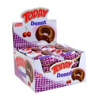 Today Donut Vişneli Kek 50 gr X 24 Adet