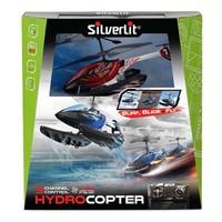 Silverlit Hydrocopter U.K. Helikopter Kırmızı 2.4G - 3CH Gyro