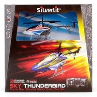 Silverlit Sky Thunderbird U.K. Helikopter Beyaz 2.4G - 3CH Gyro