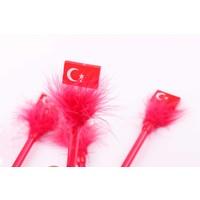 Nani Toys 4'lü Türk Bayrağı Tükenmez Kalem Seti