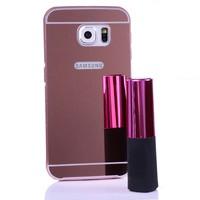 Cep Market Samsung Galaxy S7 Kılıf Metal Aynalı Bumper