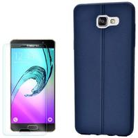 Cep Market Samsung Galaxy A5 2016 Kılıf Deri Görünümlü Silikon