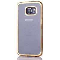 Gpack Samsung Galaxy S6 EDGE Kılıf 0.3MM Lazer Silikon