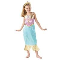 Rubies Deniz Kızı Prenses Ariel Sparkle Çocuk Kostüm 7-8 Yaş
